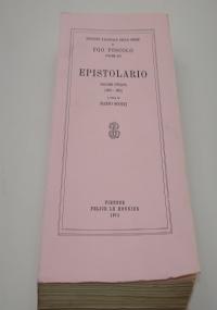 Il primo libro delle lettere