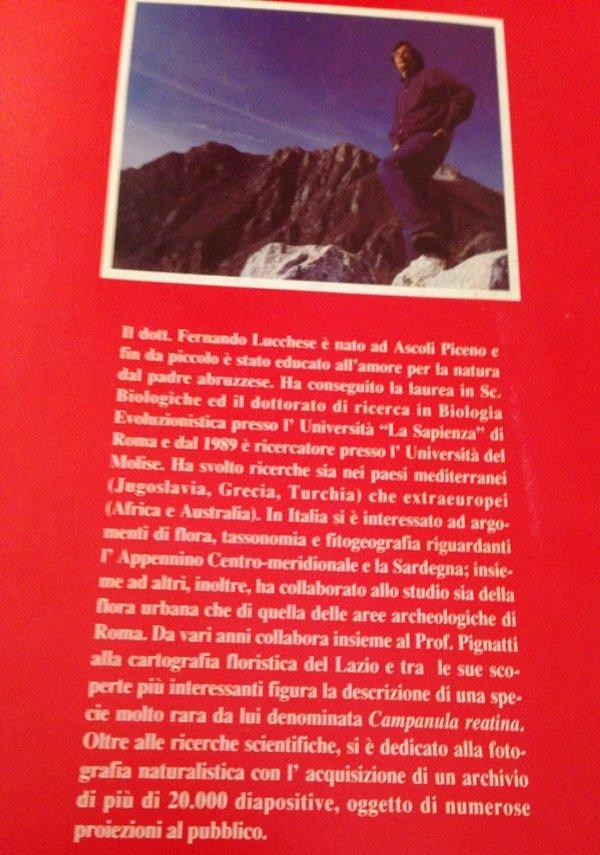 elenco preliminare flora spontanea molise 1995