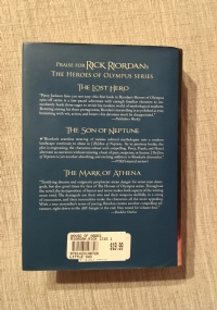 the house of Hades - the heroes of Olympus ( First Edition )