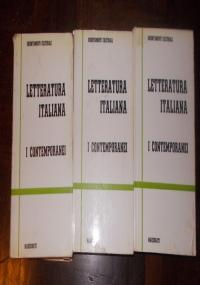 LETTERATURA ITALIANA I CRITICI OPERA COMPLETA IN 5 VOLUMI