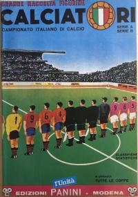 Ristampa album Calciatori Panini Serie A 1973-74