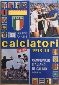 Ristampa album Calciatori Panini Serie A 1972-73