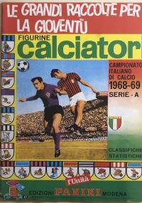 Ristampa album Calciatori Panini Serie A 1967-68
