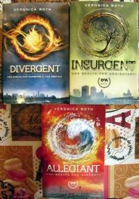 Divergent Insurgent Allegiant - lotto 3 libri fantasy ragazzi SERIE COMPLETA