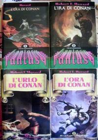 Lotto libri Conan Robert Howard Oscar fantasy barbaro ora era ira SERIE COMPLETA