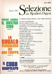 Selezione dal Reader's Digest Agosto 1983