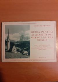 Guida Pratica ai Luoghi di Soggiorno e di Cura d'Italia - Parte III - Le Stazioni Idrominerali