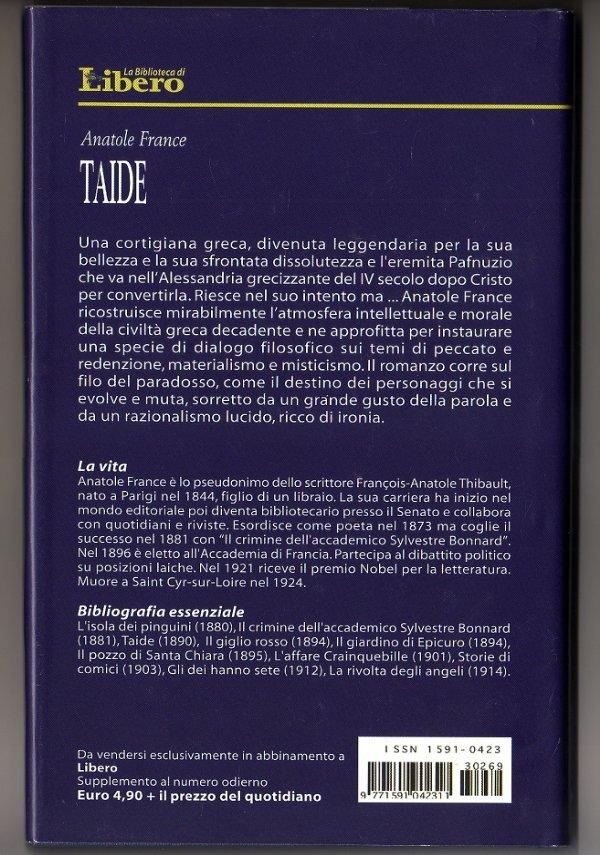 TAIDE (Romanzo) - [NUOVO]