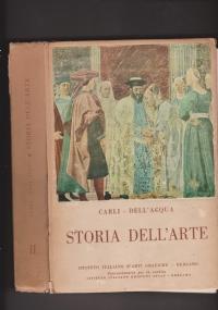 L'arte classica e italiana Volume II : Il periodo gotico e il Quattrocento. Parte Prima : disegno storico