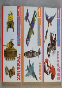 Modellismo e Diorami, lotto 3 volumi: Veicoli militari + Aerei + Soggetti vari
