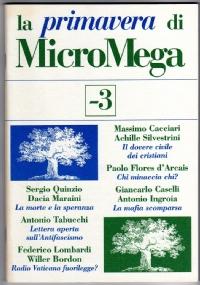 NO ALLA GUERRA DI BUSH! - i quaderni di MicroMega n. 1/2003 - [COME NUOVO]