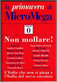 la PRIMAVERA di MicroMega n. 5/2001 (-1) - [COME NUOVO]