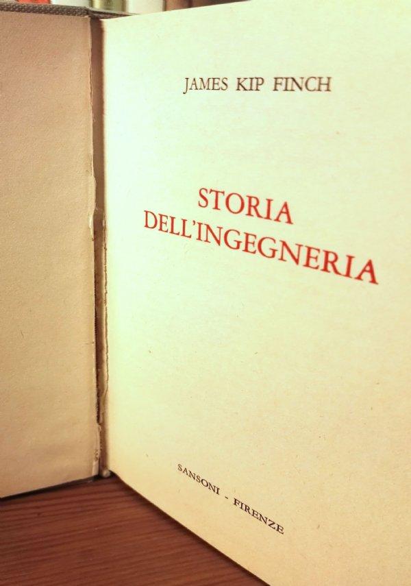 STORIA DELL'INGEGNERIA