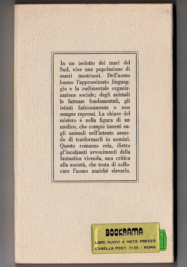 L'ISOLA DEL DOTTOR MOREAU (BUR Rizzoli) - [NUOVO]