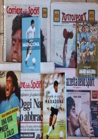 Quotidiano Tuttosport 26/11/2020 Maradona
