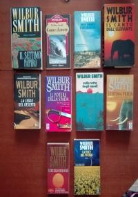 PICCOLO STOCK n. 3: 10 LIBRI cartonati e brossure WILBUR SMITH