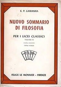 NUOVO SOMMARIO DI FILOSOFIA VOLUME III Per i licei classici Seconda  edizione