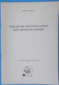 Leggere lo spettacolo 1988