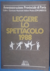 Leggere lo spettacolo 1986