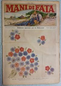 Mani di Fata- Pubblicazione mensile per lavori femminili ANNO XIV  1° giugno 1939 n.6