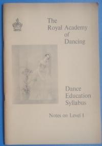 Dance Education Syllabus. Level 1