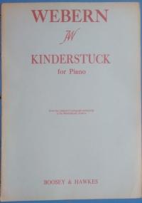 Enfantines. Ten pieces for Children. For piano by Ernest Bloch