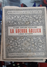 LA GUERRA GALLICA LIBRO QUARTO