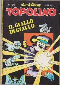 Topolino nr. 1706   7 agosto 1988