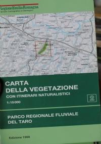 Carta della vegetazione del monte Mancuso (Cz). Calabria. scala 1:25.000