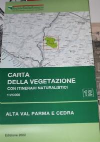 Carte della vegetazione dei Parchi regionali dell'Emilia Romagna