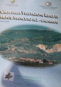 Carta della vegetazione del fiume Crati (Cs). Calabria. scala 1:25.000