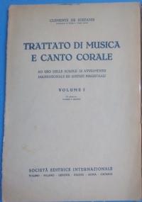 Trattato di musica e canto corale. Volume II Ad uso delle Scuole di Avviamento Professionale ed Istituti Magistrali