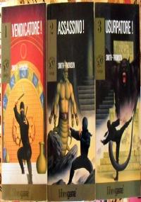 Ninja 1 2 3: lotto 3 librogame libri game fantasy ragazzi Vendicatore! Assassino! Usurpatore! SECONDA EDIZIONE