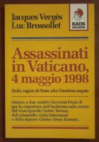 ASSASSINATI IN VATICANO, 4 MAGGIO 1998