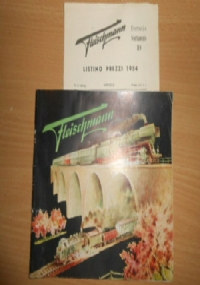 CATALOGO ORIGINALE 1954 MARKLIN D54 J IN ITALIANO