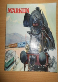 CATALOGO ORIGINALE MARKLIN 1950 D50 HO