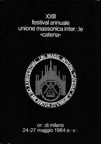 MASSONERIA GRAN LOGGIA LIBERI MURATORI 1961 PALAZZO GIUSTINIANI