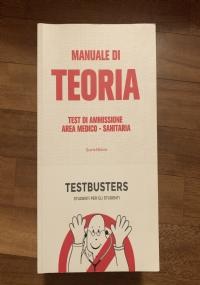 Testbusters, manuale di teoria per test di ammissione medicina