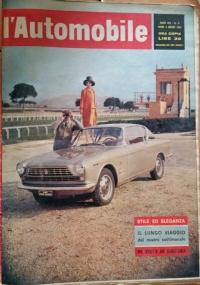 L'automobile , anno XVIII     n.46        18 novembre 1962  Tutto sul salone-Tamponamenti sulla Mi-To- In auto nell'est europeo