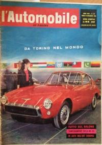 L'automobile , anno XVIII     n.43     28      ottobre 1962  Altre novità da Parigi e Londra - La Fiat al salone di Torino