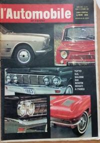 L'automobile , anno XVIII n.26     1 luglio 1962  Quetsa è la  Giulia T.I. , Al volante della Vauxhall, Italia U.R.S.S. e M.E.C.