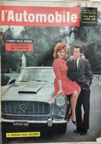 L'automobile , anno XVIII n.13 1 aprile 1962