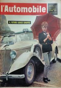 L'automobile , anno XVIII n.17 29  aprile  1962 Il convegno degli assessori