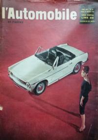 L'automobile , anno XVIII n.19         13 maggio   1962  Il futuro codice europeo