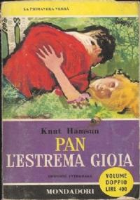 Pan - L'estrema gioia - libri del pavone