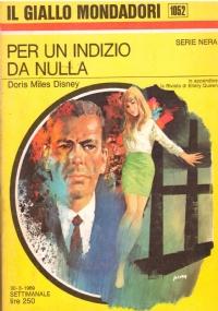 ASSASSINO A PIEDE LIBERO (Il giallo Mondadori n. 1231)