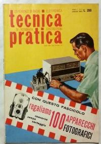 ESPERIENZE DI RADIO ELETTRONICA TECNICA PRATICA N.8 AGOSTO 1963