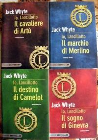 Io, Lancillotto lotto 4 libri romanzi storici: Il cavaliere di Artù, Il marchio di Merlino, Il destino di Camelot, Il sogno di Ginevra SERIE COMPLETA Sacro Graal Re Artù Camelot