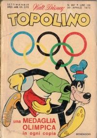 Topolino nr. 857   30 aprile 1972