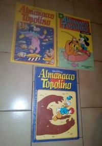 ALMANACCO TOPOLINO ( 3 FUMETTI )